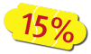 15% discount